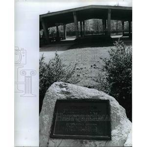 1973 Press Photo Codrington Shelter House North Olmsted Ohio - cvb03872