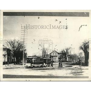 1933 Press Photo James R Shipyard built house on Huron Road 1890  - cva87765