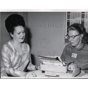 1971 Press Photo Judith Alexander, school board candidate - spa00963