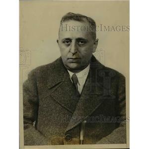 1925 Press Photo Mr.D.A. Schulte Head of the Schulte Cigar Stores - nee86044