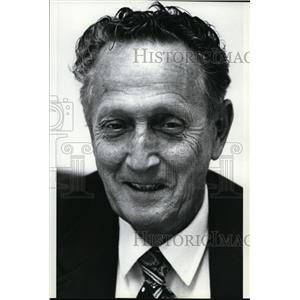 1982 Press Photo Don U. Brown, Sg. Co. Treasurer - spa01586