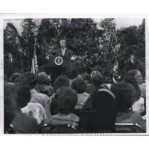 1978 Press Photo President Jimmy Carter in Spokane - spa02534