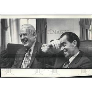 Press Photo Secretary of Labor Peter J Brennan - spa02449