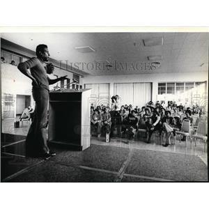 1979 Press Photo Stokey Carmichael activist - spa02325