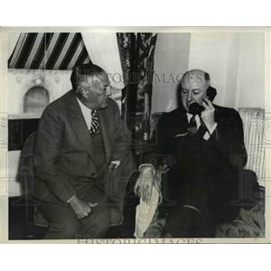1936 Press Photo Senator Robert Wagner & James Farley National Democratic Comm