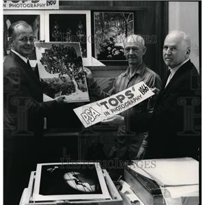 1966 Press Photo Charles W Beekman, Vernie D Simmons and R Bruce Carrick