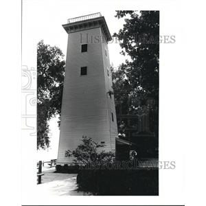 1984 Press Photo The Water Tower after renovation in Huntington Park - cva86636