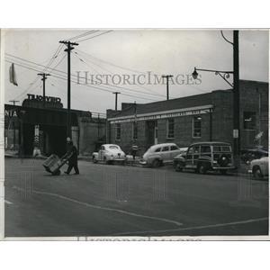 1950 Press Photo Postal Substation, Chester Ave near E.55th St  - cva94190