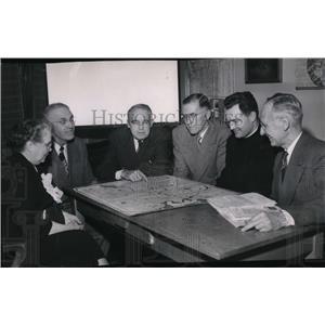 1952 Press Photo Dr. Paul Calhoun - spa02341