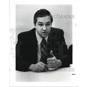1986 Press Photo John La Fevre, author of a new book how you really get hired