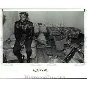 1989 Press Photo Willie White - cva90994