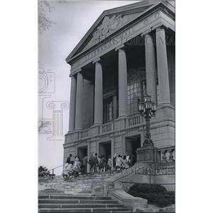 1970 Press Photo General View of the Entrance to the Severance Hall - cva92908