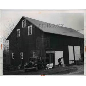 1967 Press Photo Barntree Antique Shop, Vermilion Ohio - cvb03322