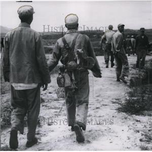 1951 Press Photo Korean war - spa02111