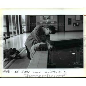 1995 Press Photo Oregon State University, Hatfield Marine Science Center