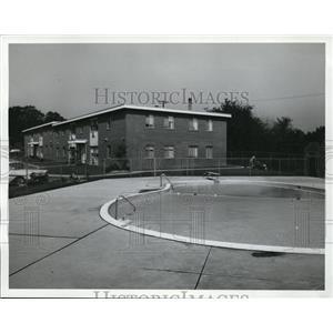 1964 Press Photo Lawnsfield Gardens Apartment in Garfield Hts - cva73571