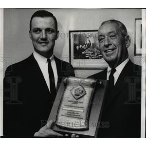 1965 Press Photo William George and R.G. Buck Buchanan of Buchanan Chevrolet Co