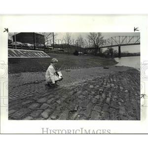 1987 Press Photo Barbara Lovely in Marietta, Ohio - cvb02545