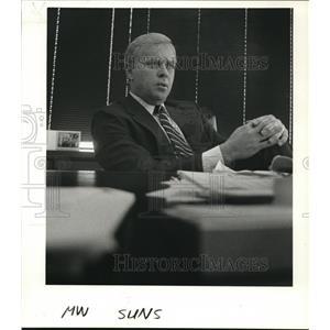 1985 Press Photo James Thornburg - ora89755