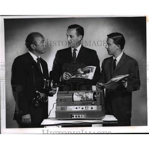 1967 Press Photo Robert Quinlan, William Ashbolt and James Cox of Ohio