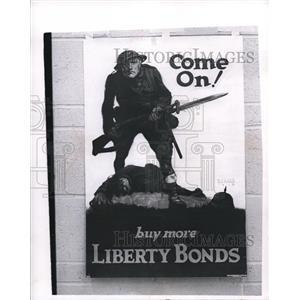 1970 Press Photo LIberty Bonds Posters owned by Mrs.J. Preston Irwin.