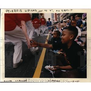 1996 Press Photo Grand Floral Parade, Portland Rose Festival - orb37584