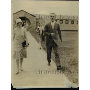 1927 Press Photo Mrs BB Schmalzel & Webster Janssem announce engagement
