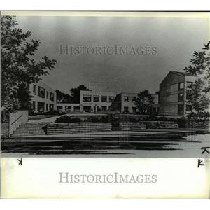 1985 Press Photo Ursuline college new library - cva79975