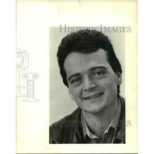 1985 Press Photo Mike Lloyd in Portland Oregon - ora53750