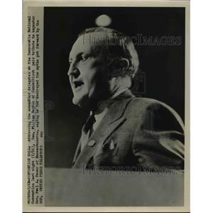 1952 Press Photo Democratic National Convention Sen William Benton of CT