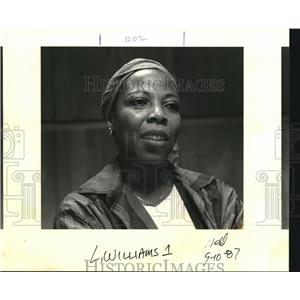 1987 Press Photo Sherley Anne Williams - ora99851