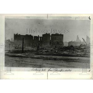 1989 Press Photo Spokane Washington Historical after fire of 1889 - spa03012