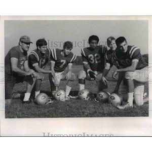 1968 Press Photo Gilmour Academy Football - cvb58420