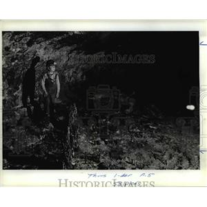 1982 Press Photo AAdventure of H.G, Wells Journey to the Center of the Earth