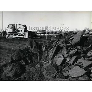 1979 Press Photo Spokane International Airport- parking garage - spa22017