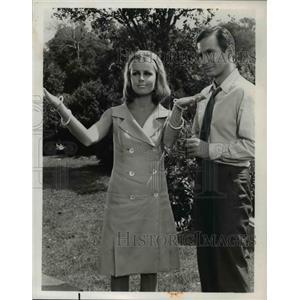 1966 Press Photo Diana Hyland & Ben Gazzara