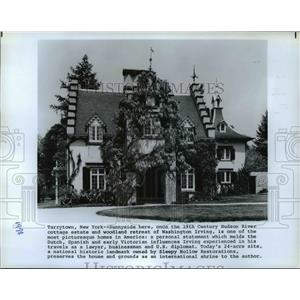 1979 Press Photo Cottage Estate and woodland retreat of Washington Irving.