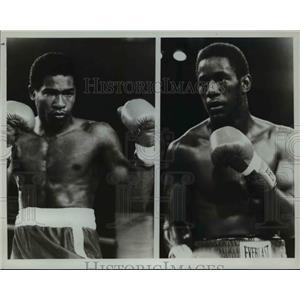 "1982 Press Photo (R) Johnny ""Bump City"" Bumphus of Nashville, Tennessee"