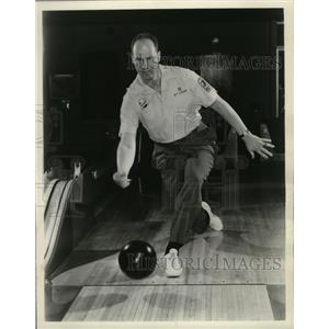 1963 Press Photo Billy Welu, St. Louis professional, bowling - mjs02699