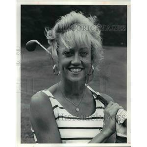 1990 Press Photo Suburban Women's Golf Assoc., Tri League Champ-Sharon Minnich