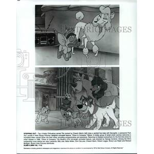 "Press Photo ""Oliver & Company"""