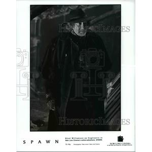 Press Photo Nicol Williamson as Cogliostro in Spawn
