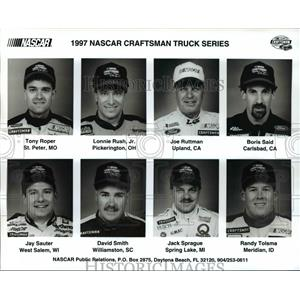 1997 Press Photo Nascar Craftsman Truck Series - cvb66926