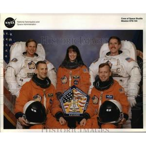 Press Photo The Crew of the Space Shuttle Mission STS-104