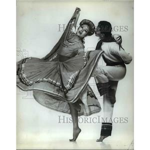 1986 Press Photo The All Nations Dance Company - cvb67732