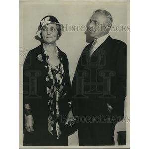 1932 Press Photo Mrs Walter Kohler - mja14409
