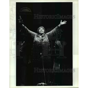 1995 Press Photo Theresa Merritt in Ma Rainey's Black Bottom,Cleveland Playhouse