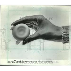 1984 Press Photo The contraceptive sponge is available without prescription
