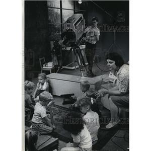 1965 Press Photo Milwaukee vocational school television studio- WMVS-TV