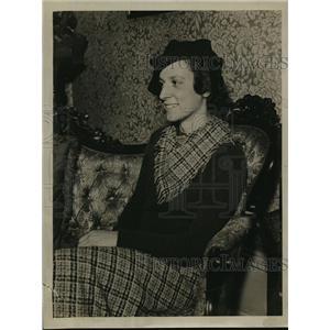1934 Press Photo Lydia Hickcox - mja15044